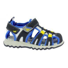 Canguro Chlapčenské sandále - modro-čierne