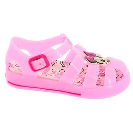 Disney by Arnetta Dievčenské gumové sandále Minnie - svetlo ružové