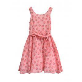 Topo Dievčenské šaty - ružové