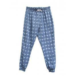 Topo Dievčenské nohavice so srdiečkami - modré