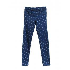 Topo Dievčenské nohavice s hviezdičkami - modré