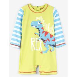 Hatley Chlapčenský plavecký overal s dinosaurom UV 50+ - farebný