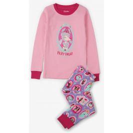 Hatley Dievčenské pyžamo s psíkmi - ružové