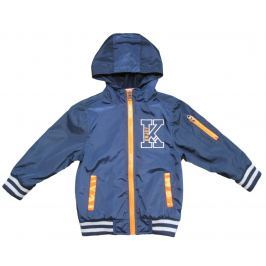 Carodel Chlapčenská bunda - modro-oranžová