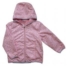 Carodel Dievčenská bunda s hviezdičkami - ružová