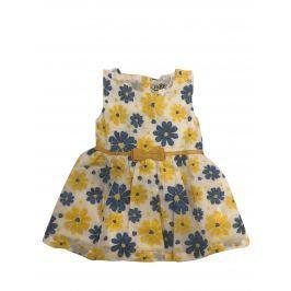 Carodel Dievčenské šaty s kvietkami - farebné