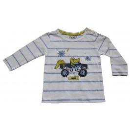 Carodel Chlapčenské tričko s krokodílom - biele