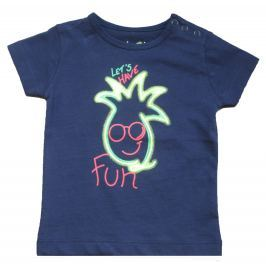 Carodel Chlapčenské tričko s ananásom - tmavo modré
