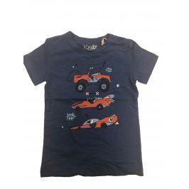 Carodel Chlapčenské tričko s krokodílom - modré
