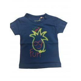 Carodel Chlapčenské tričko s ananásom - modré