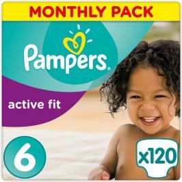 Pampers Pampers Plienky Premium Protection Active Fit 6 Extra Large 120 ks