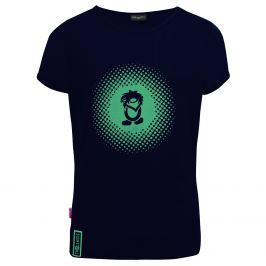 Trollkids Dievčenské tričko Logo - tmavo modré