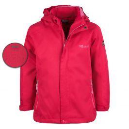 Trollkids Dievčenská bunda Finnmark - červeno-ružová