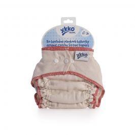 XKKO Plienkové nohavičky Organic - Natural Veľkosť M