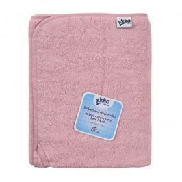 XKKO BIO bavlnená froté osuška Organic 150x75 - Baby Pink
