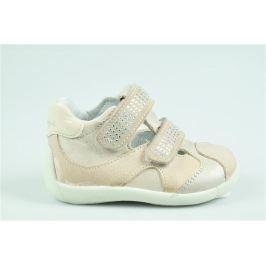 Primigi Dievčenské členkové topánky s kamienkami - svetlo ružové