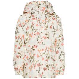 Name it Dievčenské bunda s kvetinami - farebná