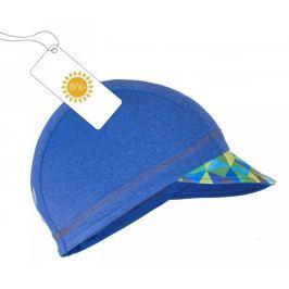 Unuo Chlapčenská čiapka so šiltom Triangel UV 50+ - modrá