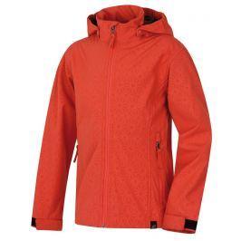 Hannah Dievčenská softshellová bunda Kasha - oranžová