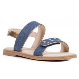 Geox Dievčenské remienkové sandále Karly - modré