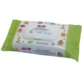 HiPP Babysanft Vlhčený Toaletný Papier Ultra Sensitive, 6x50 ks