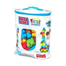 Mega Bloks Kocky v plastovom vreci, pre chlapcov, 60 dielikov