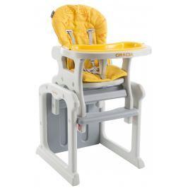 Babypoint Jedálenská stolička Gracia, 2017, žltá