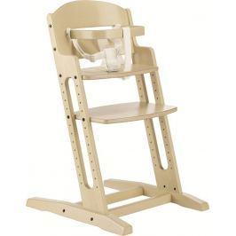 Baby Dan Jedálenská stolička Dan Chair New - krémová