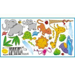 Mint Kitten Samolepka na stenu Safari, 1 m