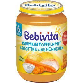 Bebivita Smotanové zemiaky s mrkvou a kuracím mäsom - 6x190g