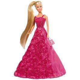 Simba Bábika Steffi Gala Princess tmavo ružová