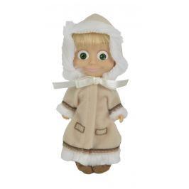 Simba Máša a medveď - Bábika Máša v béžovom kabátiku