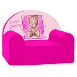 Baby Nellys Detské kresielko Sweet Dreams by Teddy - ružové