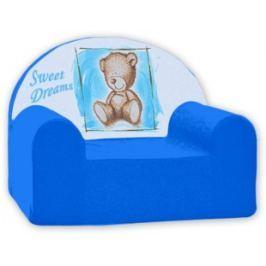 Baby Nellys Detské kresielko Sweet Dreams by Teddy - modré