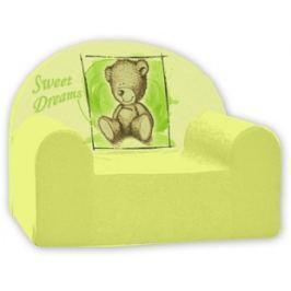 Baby Nellys Detské kresielko Sweet Dreams by Teddy - zelené
