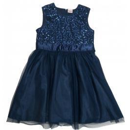 8cae9340a9b6 Detail · Topo Dievčenské spoločenské šaty - tmavo modré