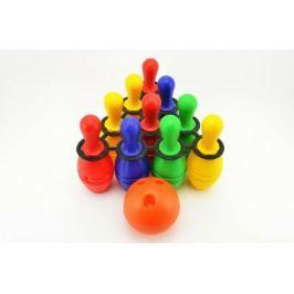 Teddies Bowling kolky plastové 10 ks