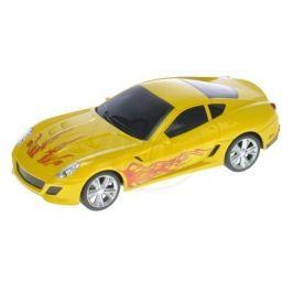 Mikro hračky Auto RC I-DRIVE plast 25 cm s ovládacím náramkom - žlté