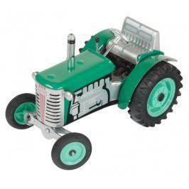 KOVAP Traktor Zetor zelený na kľúčik kov 14 cm 1:25