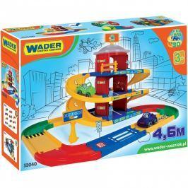 WADER Kid cars 3D parkovisko 2 poschodia plast 4,6 m