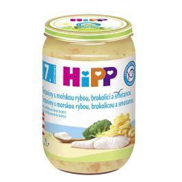 HiPP Cestoviny s morskou rybou, brokolicou a smotanou 6x220g