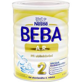 BEBA AR 2 špeciálne dojčenské mlieko pri grckaní, 800 g