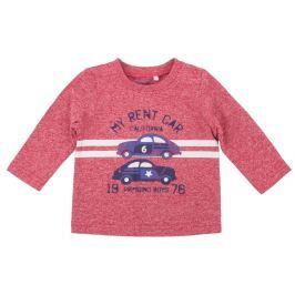 Primigi Chlapčenské tričko s autami - červené