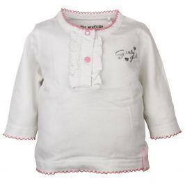 Dirkje Dievčenské tričko - biele