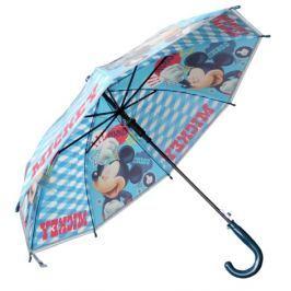 E plus M Chlapčenský dáždnik Mickey - modrý