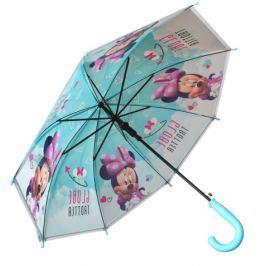 E plus M Dievčenské dáždnik Minnie - modrý