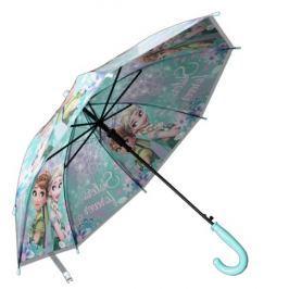 E plus M Dievčenský dáždnik Frozen - modrý