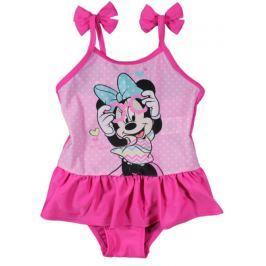 E plus M Dievčenské plavky Minnie - ružové
