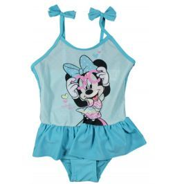 E plus M Dievčenské plavky Minnie - modré