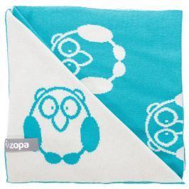 ZOPA Detská deka Little Owl, Mint